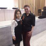 На фото: Диана с супругой Главы Республики Башкортостан - Каринэ Хабировой.